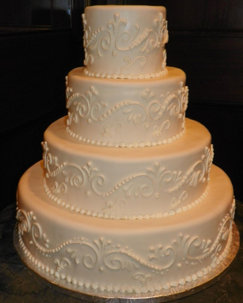 4tier with scrollwork