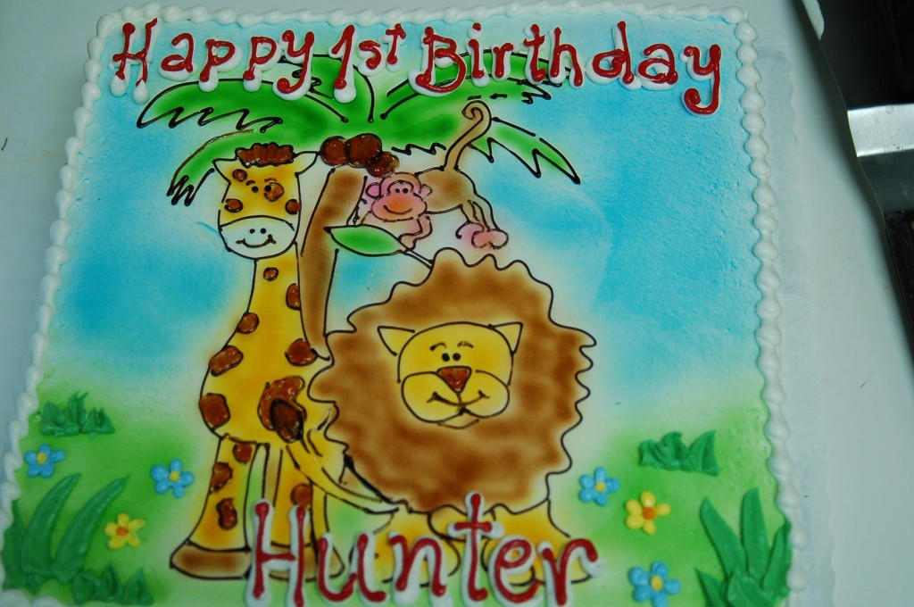 Birthday Jungle Animals