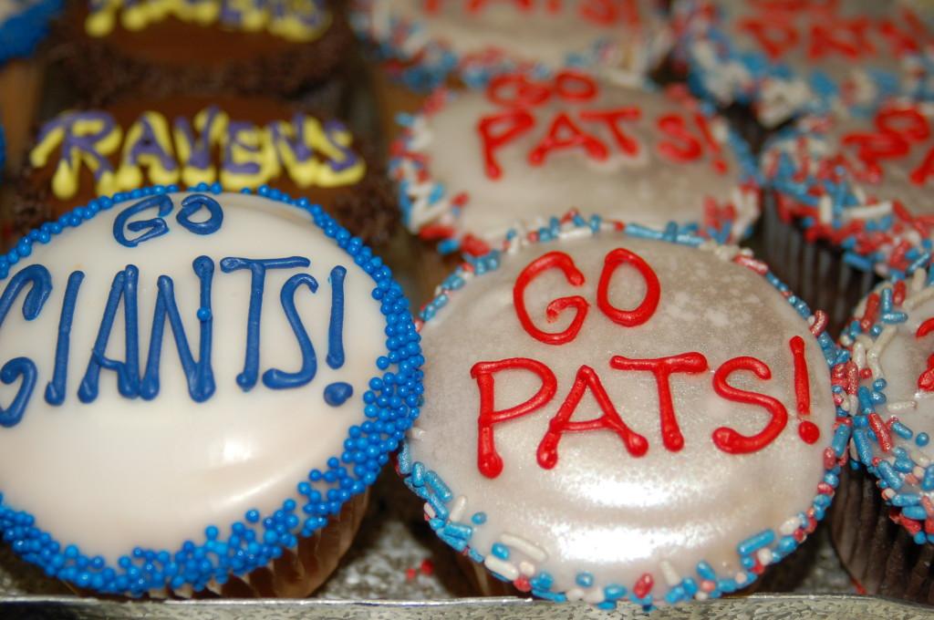 Football Cupcakes 2012