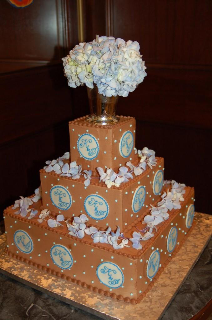 Chocolate Square Wedding