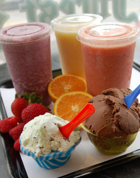 Fresh Gelato & Smoothies