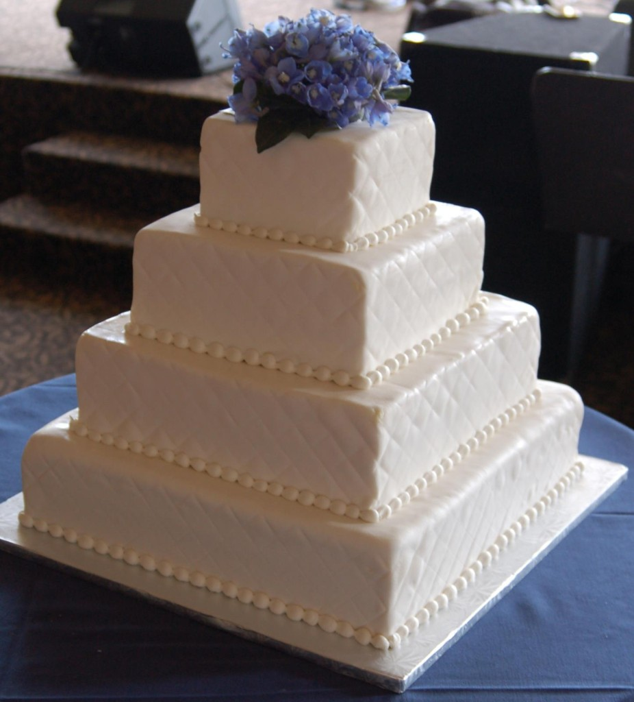 quilted rolled fondant