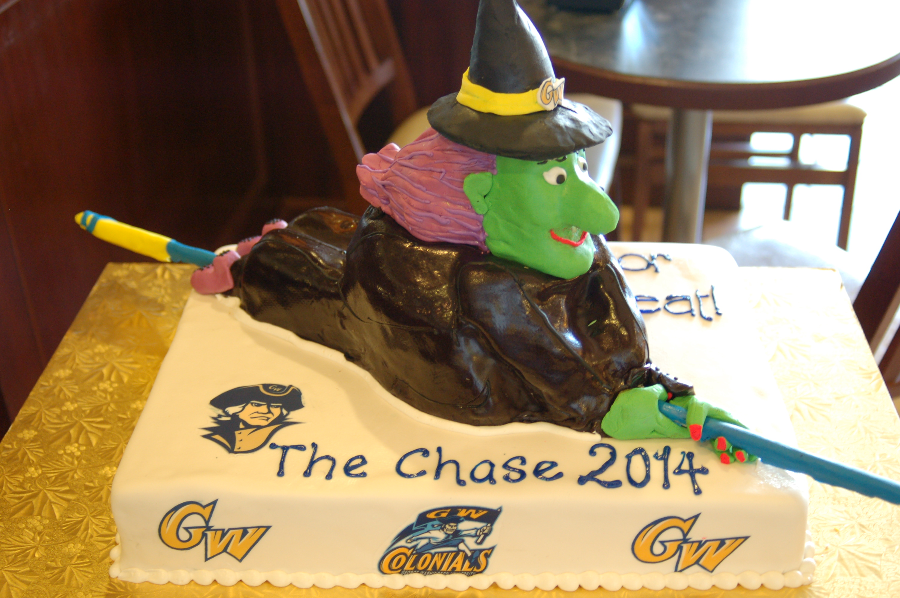 witch 3d cake