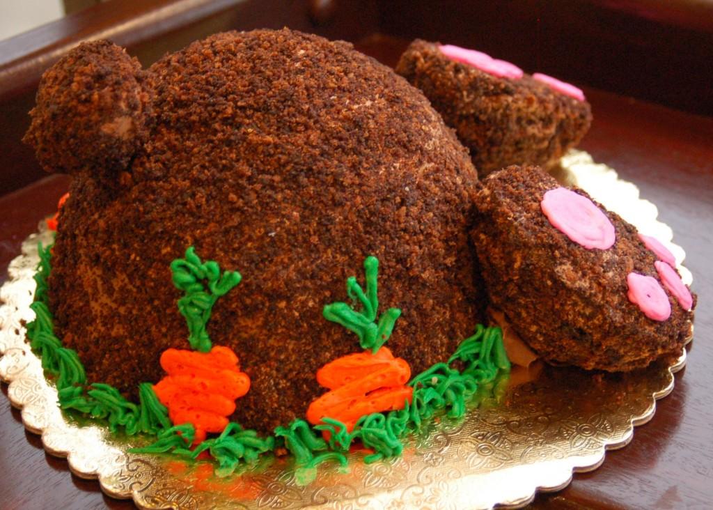 Chocolate Bunny Cake 2017