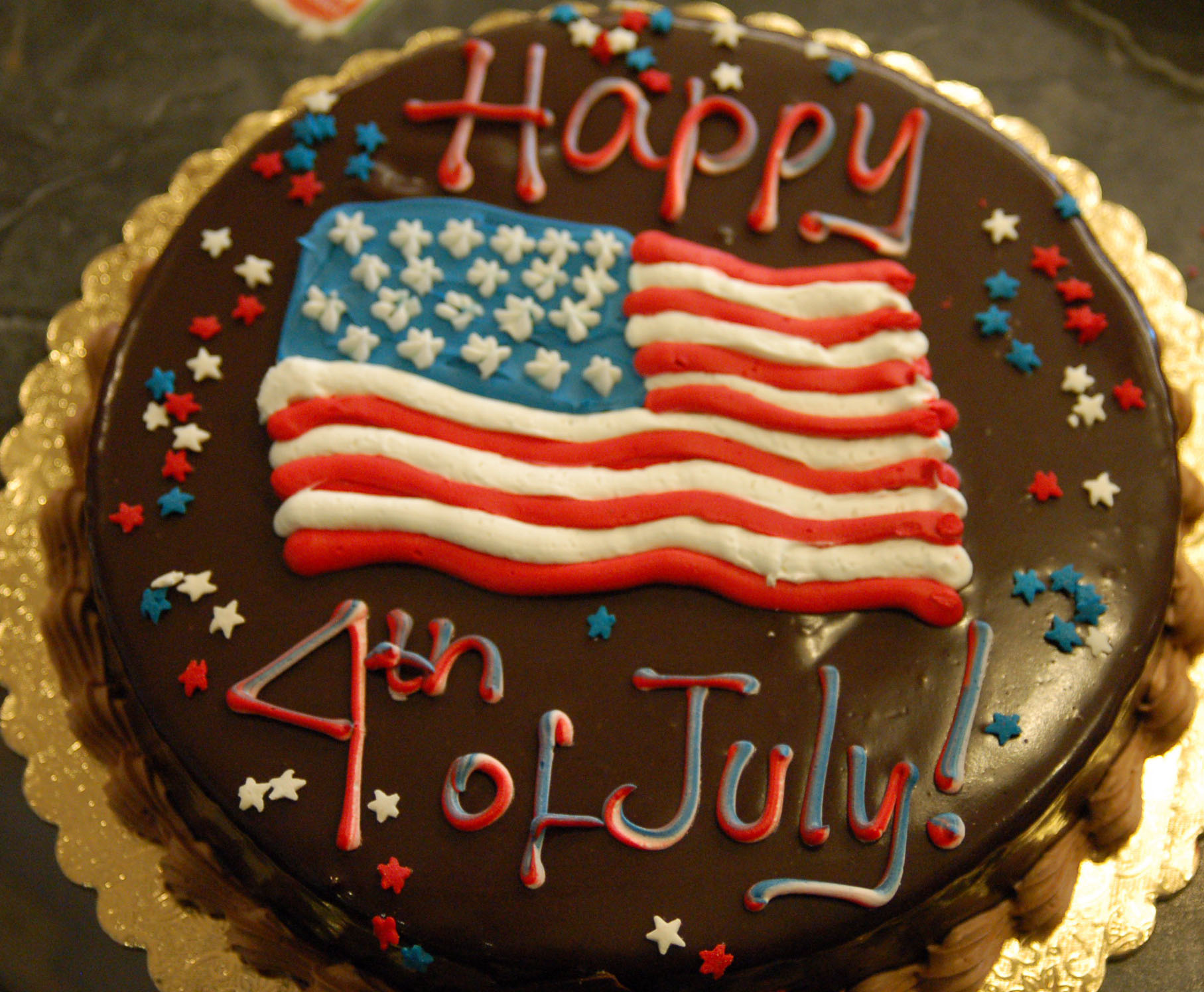 4th july truffle torte